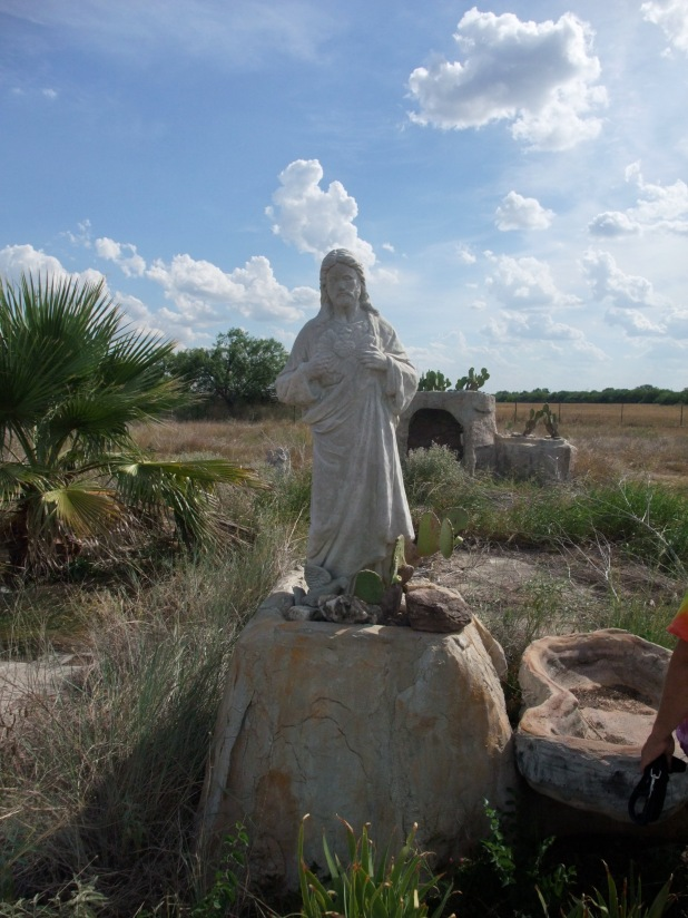 Uvalde Bible Land (I did the cement work, not the figures