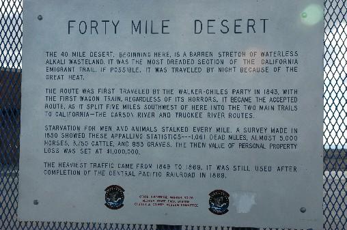 40j mile desert