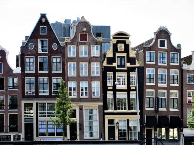 leaning buildings